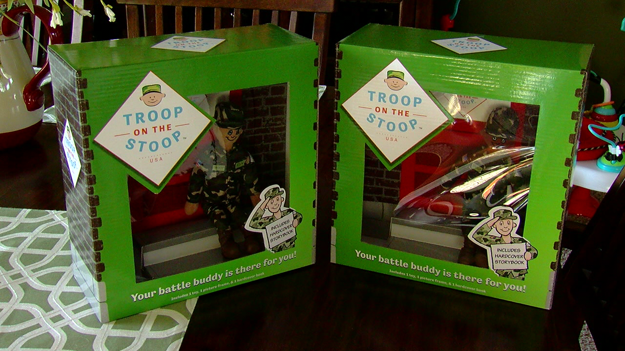 One local veteran wanted to find a creative way to make sure those families feel like they're being supported. (WKRC)