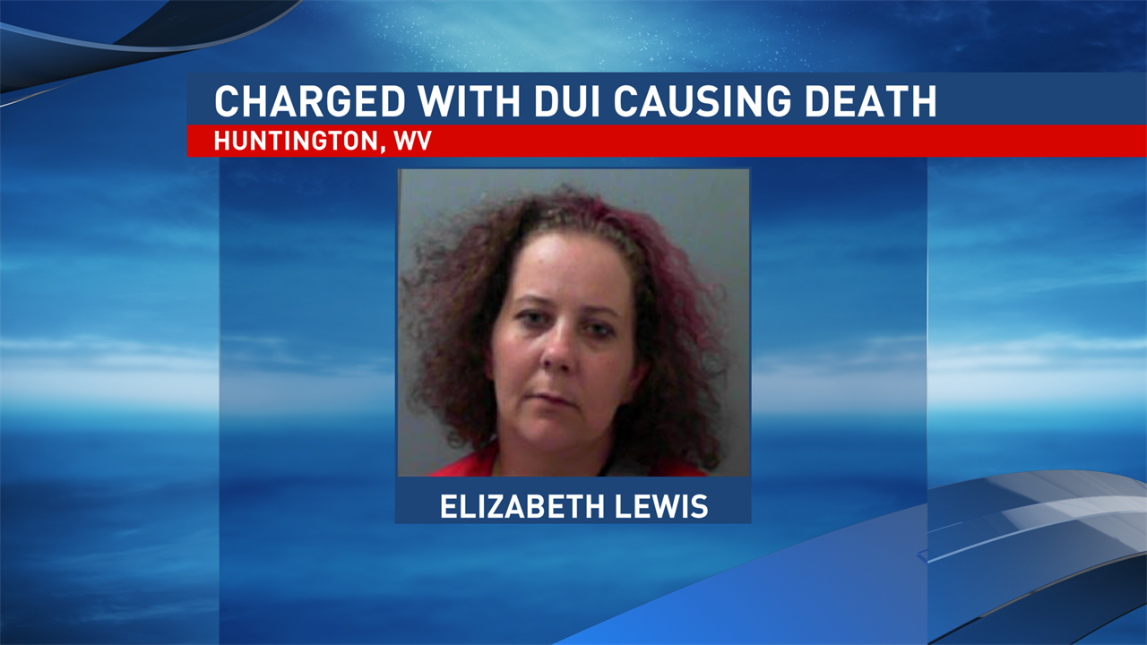 Police say Elizabeth Lewis, 39, of Ashland was charged with DUI causing death in the April 7 accident. (West Virginia Regional Jail)