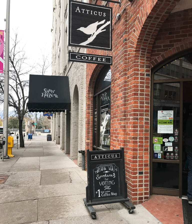 Attitcus Coffee & Gifts is ideal an afternoon pick me up. (Image: Rebecca Mongrain/Seattle Refined)