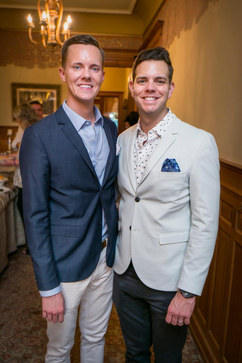 Christian and Cody Gausvik{ }/ Image: Mike Bresnen Photography