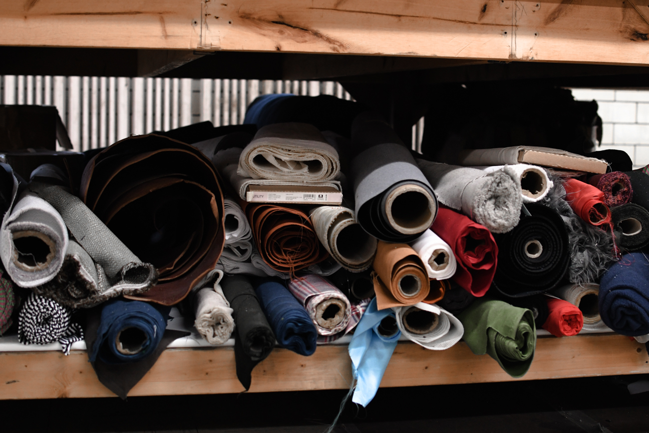 Sew Valley has a goal to reduce their fabric waste to 5 percent by 2021. / Image: Shea Renusch // Published: 2.7.20