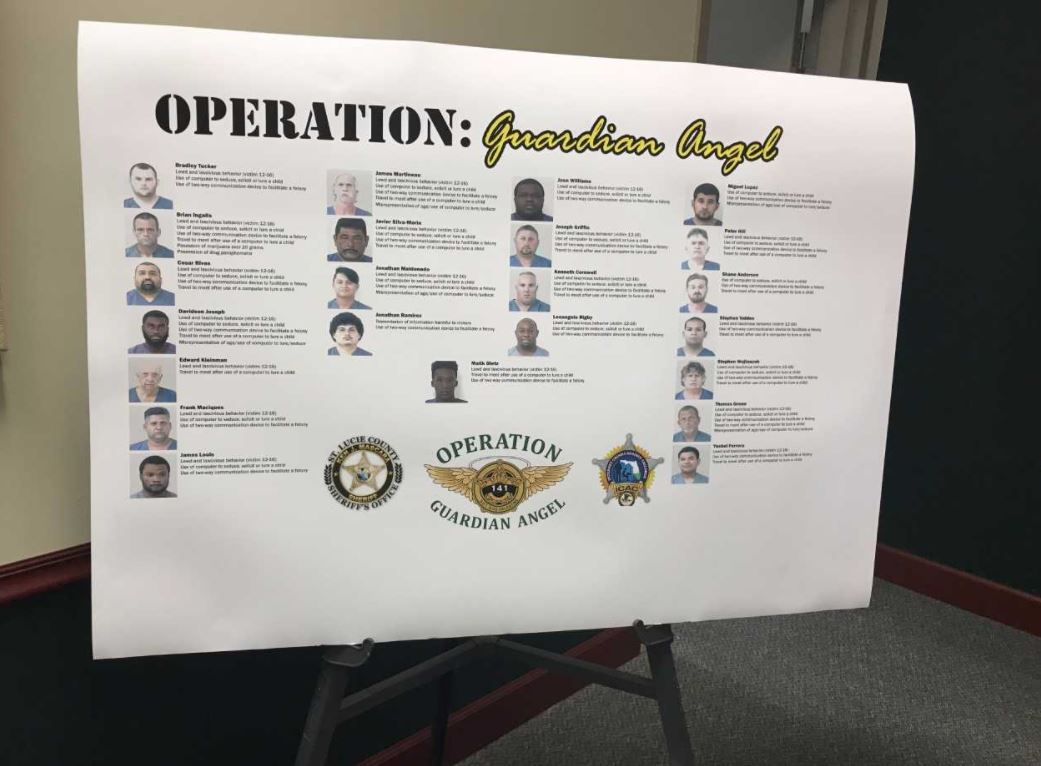 Sheriff: 23 arrested for soliciting minors. (WPEC)
