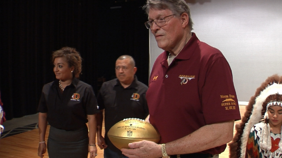 Donna's Super Bowl Champion Returns To Be Honored By Redskins