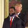 WATCH:Trump honors heroes who responded to Congressional baseball shooting