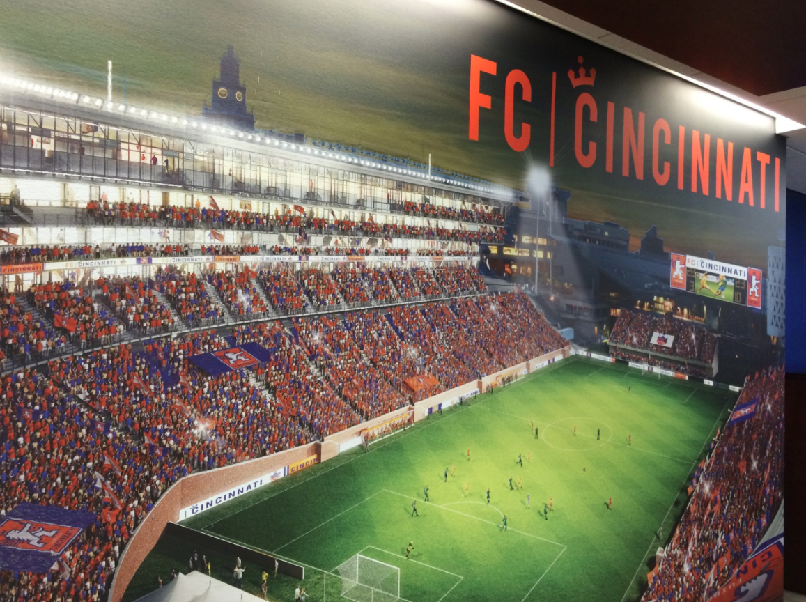 Hamilton County Commissioners approve money for a parking garage to support a new stadium  (FC Cincinnati)