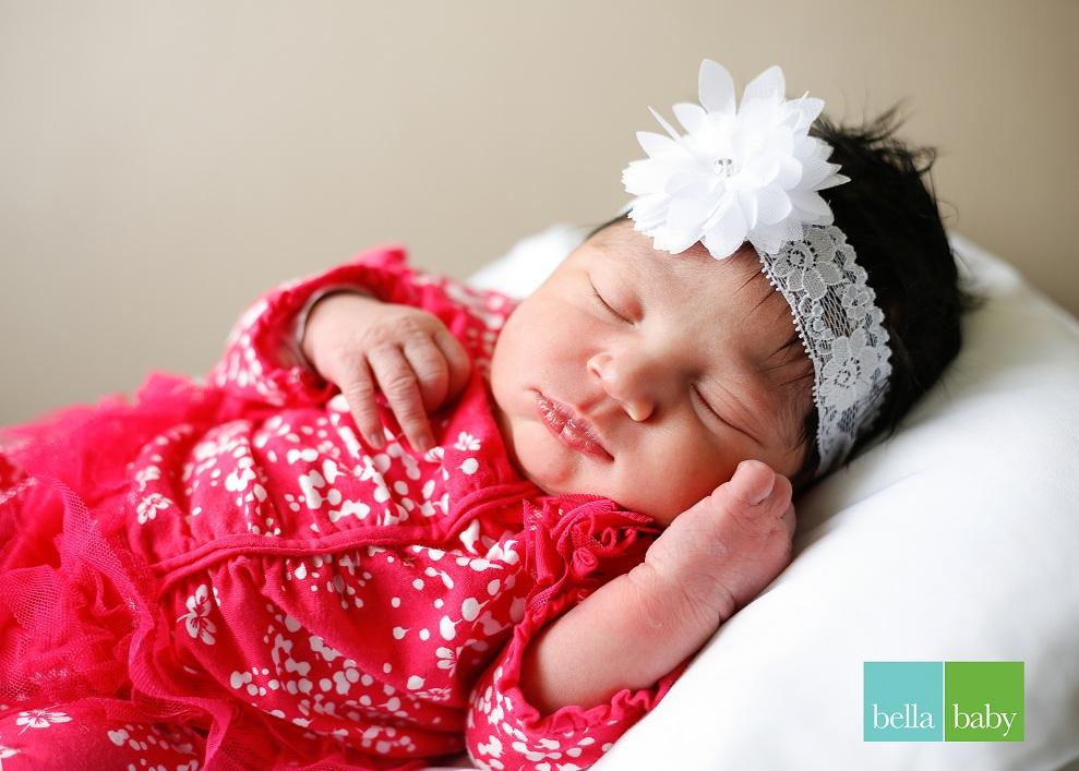 Olivia, our Baby of the Day for November 4, 2015. Photo courtesy of Palms West Hospital and Bella Baby Photography