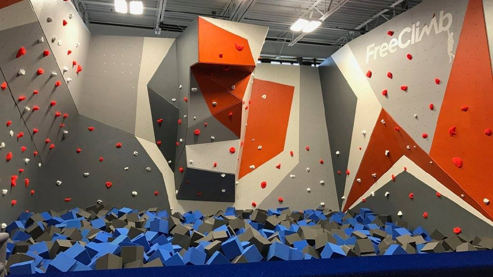 FreeClimb at Sky Zone Asheville. (Photo credit: Sky Zone Asheville)