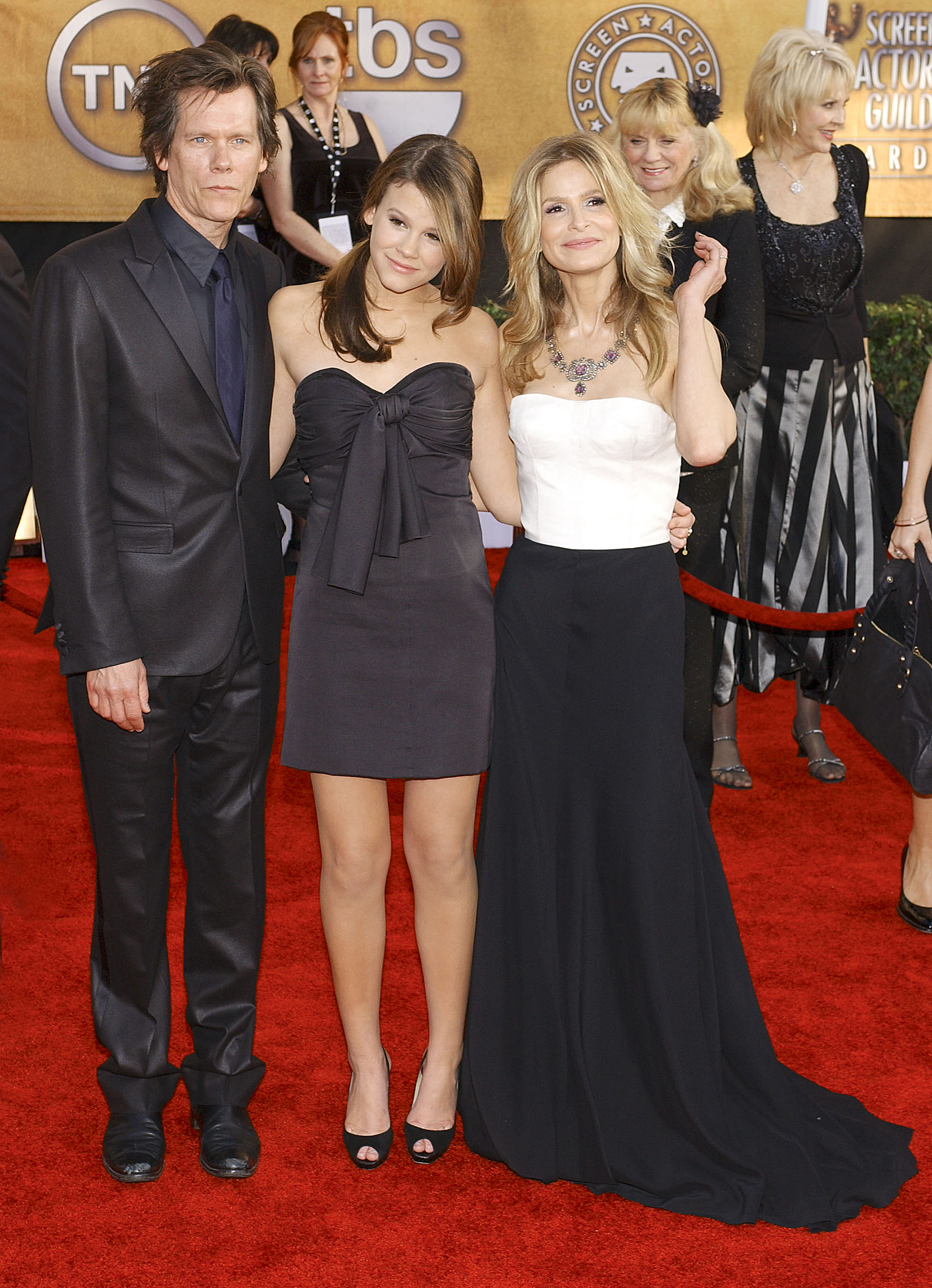 Kevin Bacon, Sosie Bacon and Kyra Sedgewick 15th Annual Screen Actors Guild Awards held at the Shrine Exposition Center - Arrivals Los Angeles, California - 25.01.09  Featuring: Kevin Bacon, Sosie Bacon and Kyra Sedgewick Where: CA, United States When: 25 Jan 2009 Credit: Apega/WENN