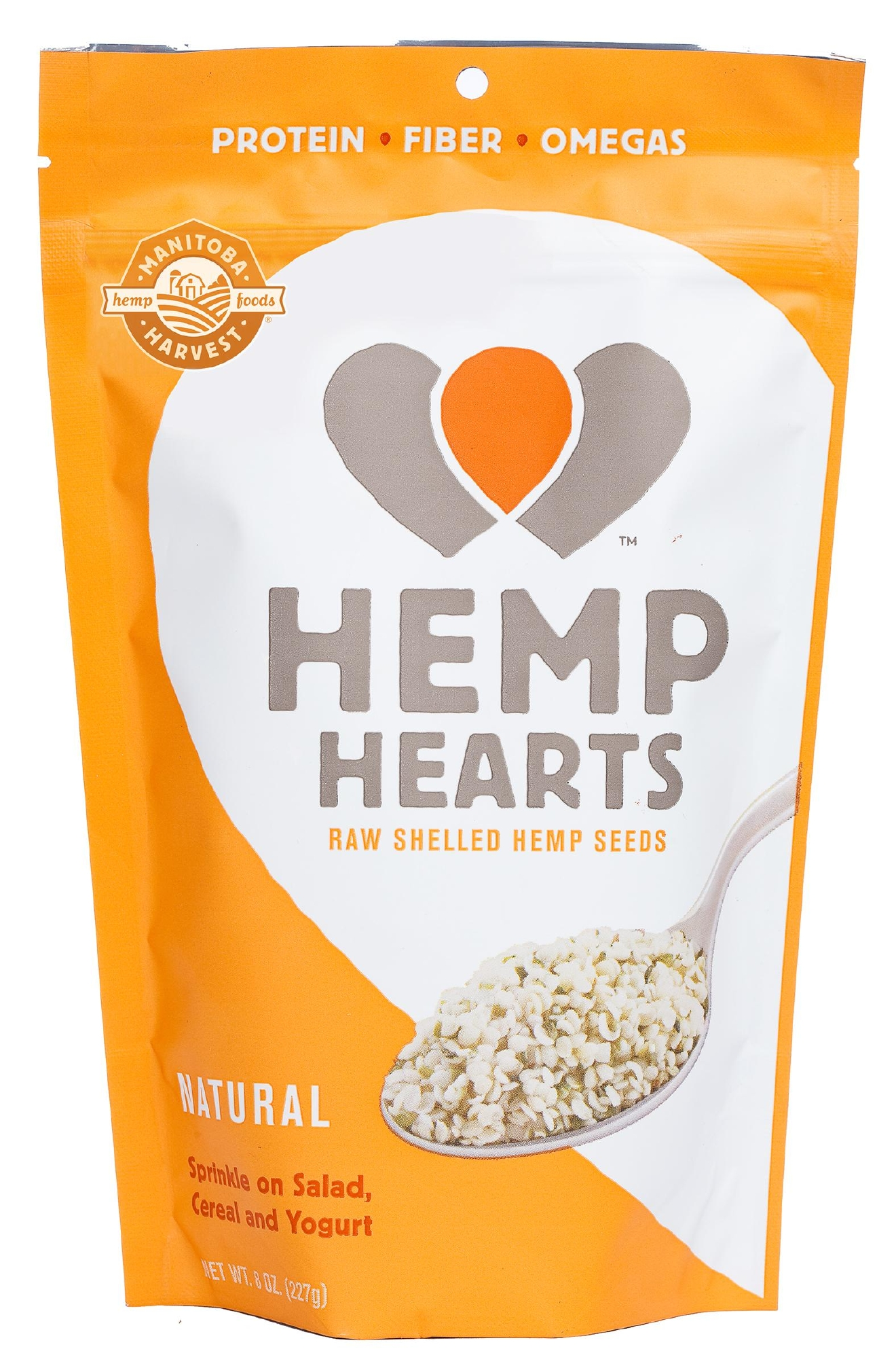 Manitoba Harvest Hemp Hearts: Another go-to because it can boost to better the nutrition of any nutrition stop with these seeds that pack plant protein, omegas, and fiber. Because they don't have any extra carbs they also pair well with other carb choices whether that's fruit or cereal or butternut squash soup, potatoes or yogurt. //Ashley Koff, RD and founder of Ashleykoffapproved.com// (Manitoba Harvest)