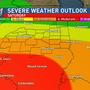 Severe Weather Threat Continues Saturday