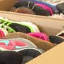 Charleston store collects shoes for Hurricane Harvey victims