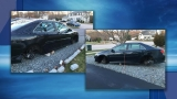 Police: Tires, rims stolen from car