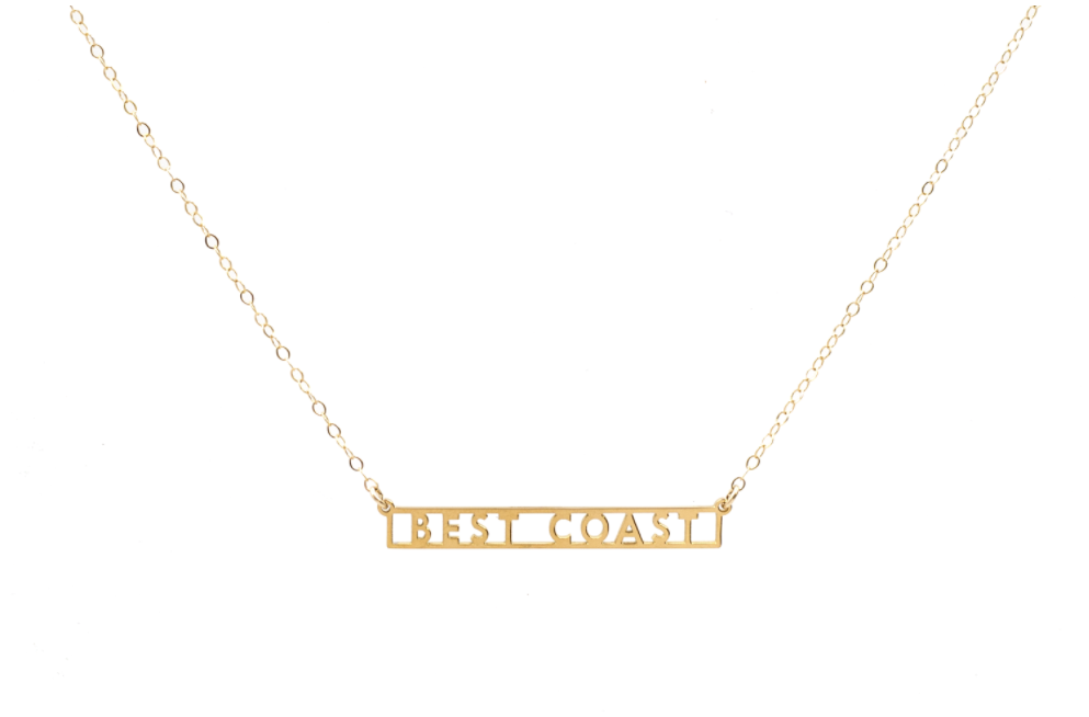 Best Coast Necklace by Seoul Little from Moorea Seal Collection ($58). Find on mooreaseal.com. (Image: Moorea Seal)