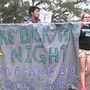 "March and rally held on UF campus to  ""Take Back the Night"", stop sexual violence"