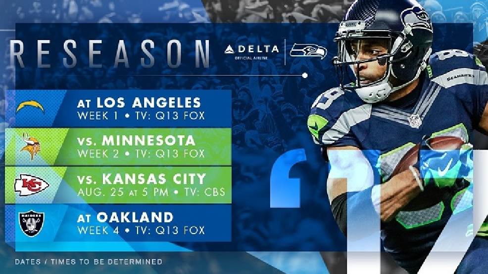 Seahawks to host Chiefs in preseason on KLEW | KLEW