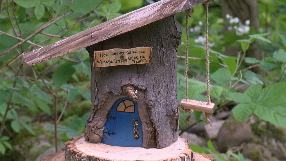 Fairy houses officially move into new home | WHAM