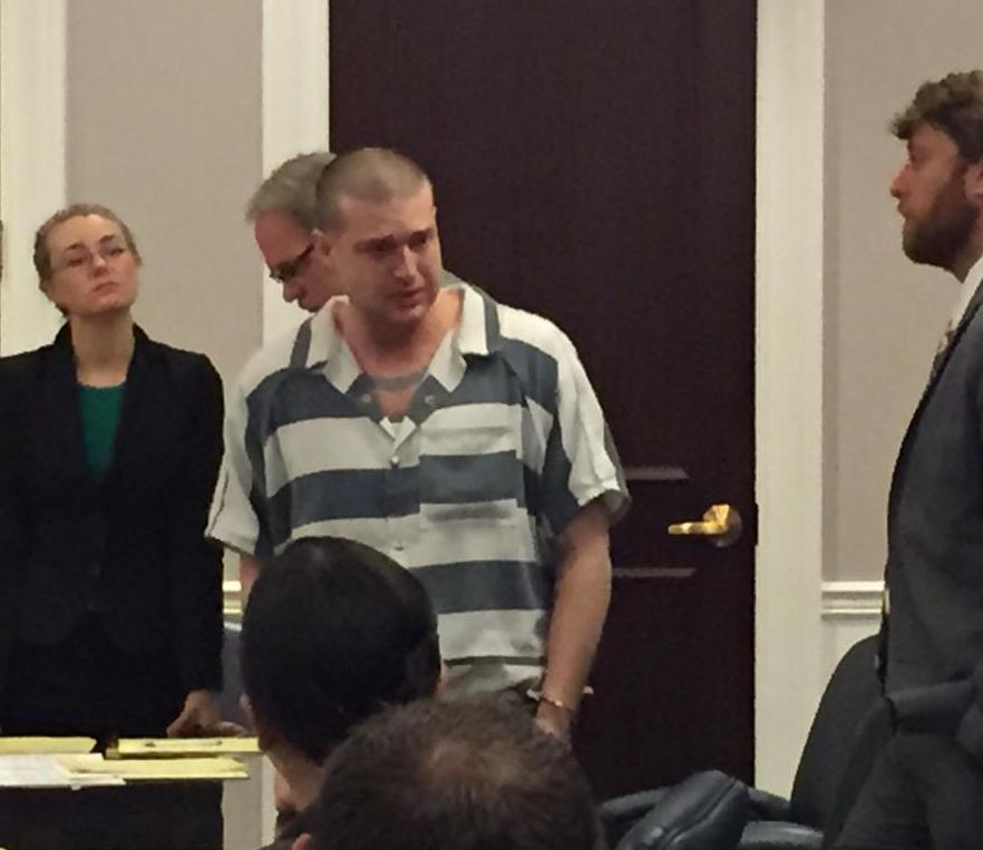 Kronsberg shouted obscenities to the judge after being sentenced to life (Jason Tighe/WCIV)