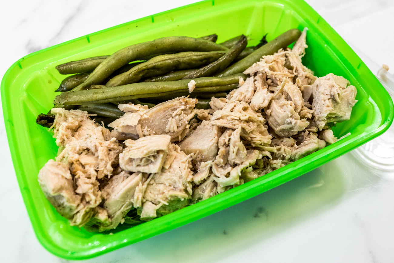 Teriyaki chicken and green beans / Image: Catherine Viox{ }// Published: 1.5.20