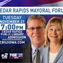 The Gazette, CBS2/FOX28 host Cedar Rapids mayoral forum