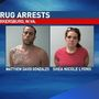 Two people facing felony drug charges after traffic stop in Parkersburg