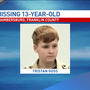 Missing 13-year-old boy found, returned home