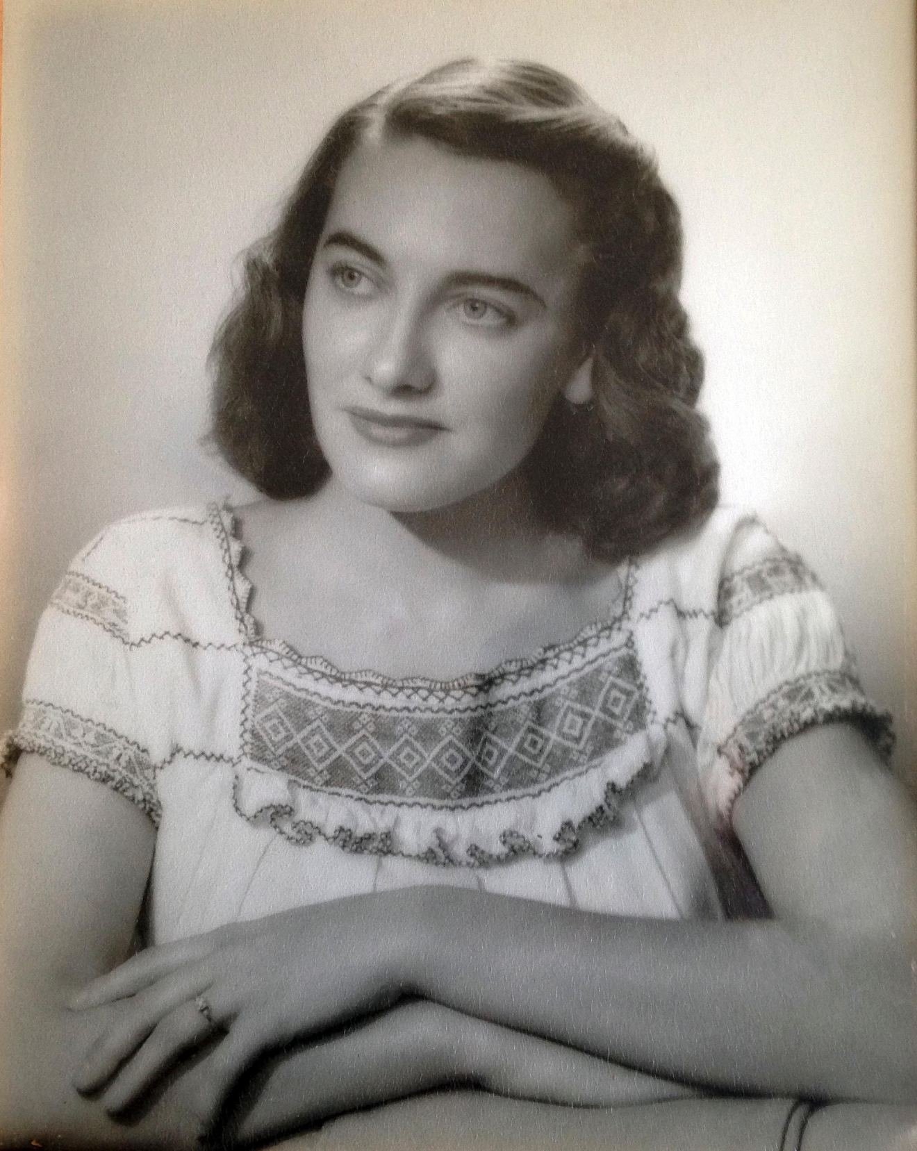 This undated photo provided by the Haley family shows Jean Haley, of Barrington, R.I., when she was about 25 years old. Jean and her twin 97-year-old sister Martha Williams froze to death Saturday, March 4, 2017, after they fell outside Jean's home in Barrington and were stranded there during one of the coldest nights of the winter. A neighbor found the twin sisters the next morning. (Haley family via AP)