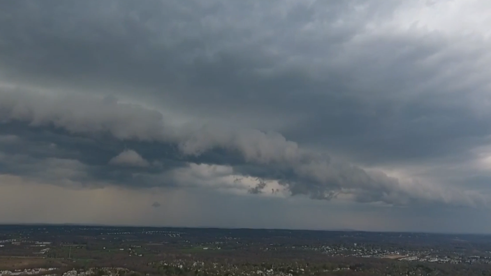 Inside the Storm: Storms brings gusty winds to Pennsylvania