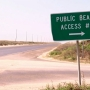 High tides, poor conditions force Cameron County to close beach accesses to cars