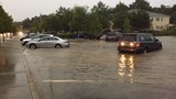 Parts of downtown Columbia experience flooding due to Sunday night rain