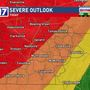 CODE RED: Tornado watch issued ahead of Tuesday night storms