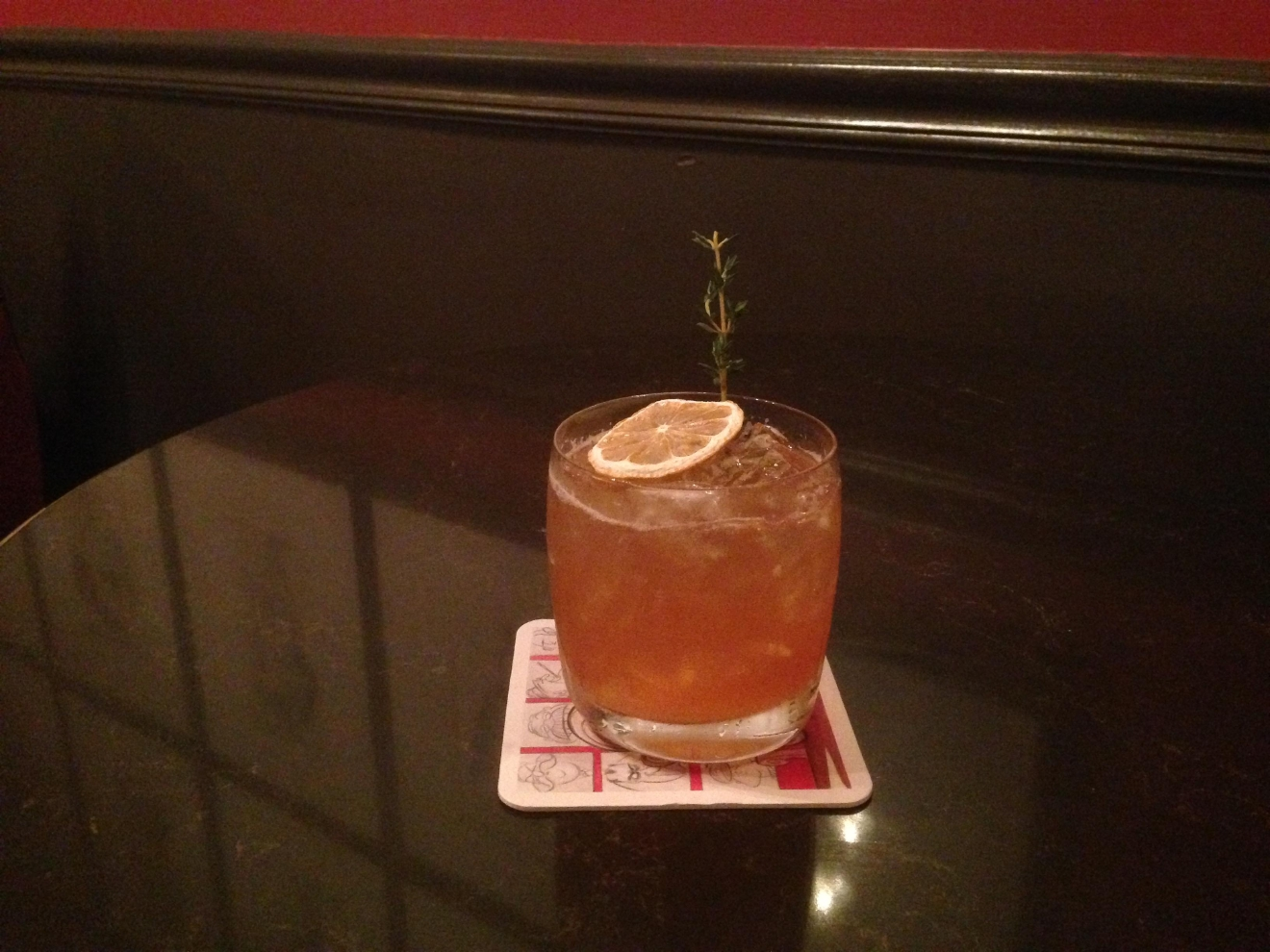 Trumpy Sour at Off the Record  (Image: Courtesy The Hay-Adams)