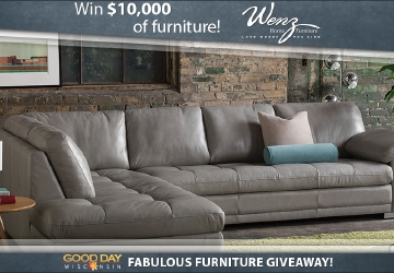 Good Day Wisconsin Fabulous Furniture Giveaway
