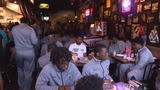 Local restaurant hosts pizza party for Miami prep football team stranded in Las Vegas