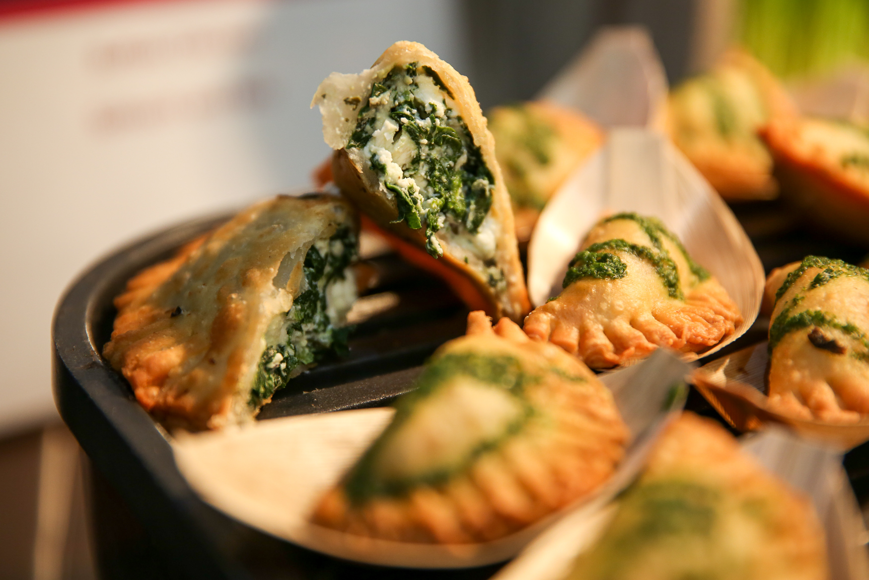 The new menu will feature items from DC Empanada. (Amanda Andrade-Rhoades/DC Refined)