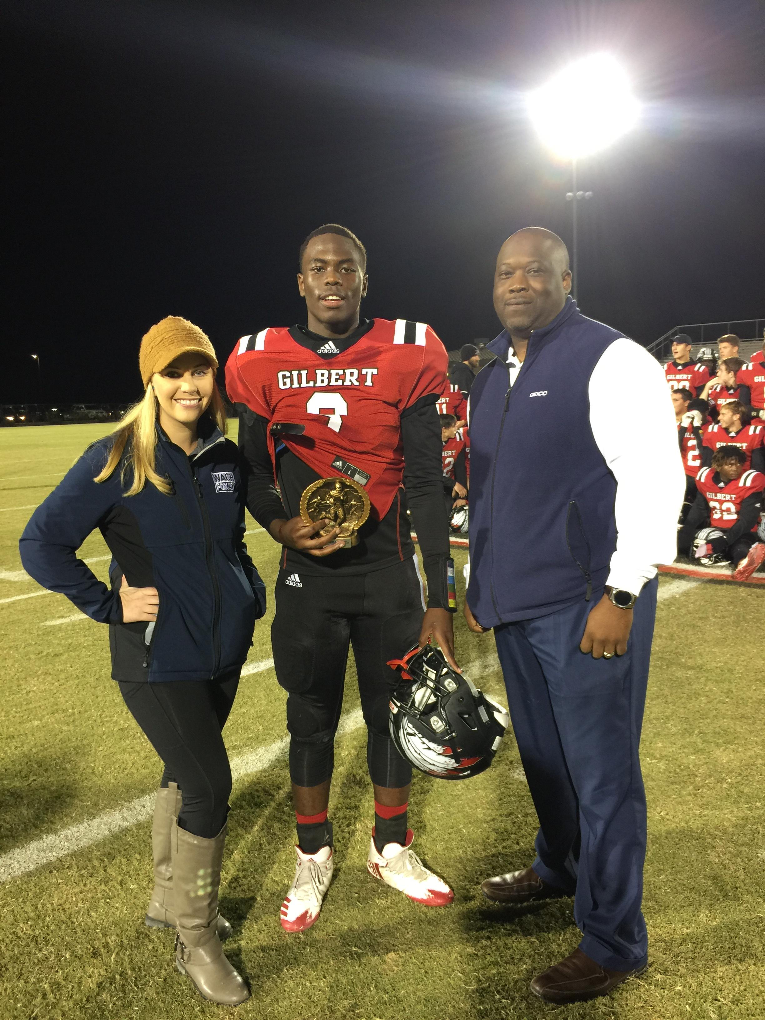 DeAndre Cook - Geico Player of the Game