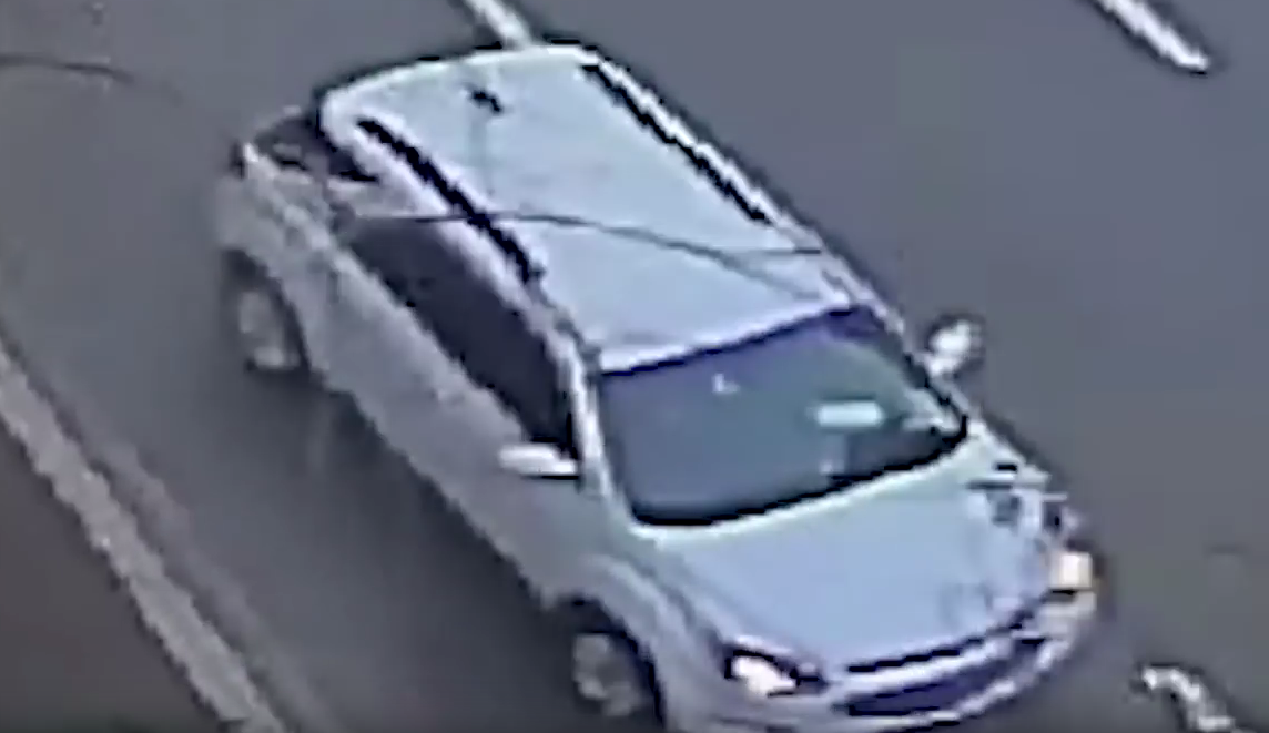 Photo of man's SUV linked to kidnapping of Georgetown University student on Jan. 26.  Monday, Jan. 30, 2017 (Metropolitan Police)