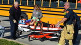 More than a dozen students injured after two school buses crash