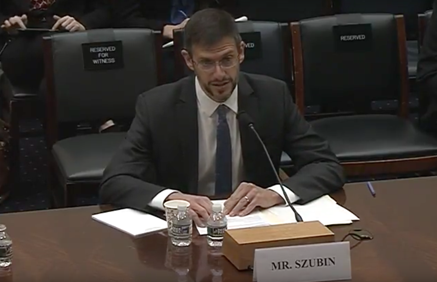Adam Szubin Photo:  House Foreign Affairs Committee YouTube<p></p>