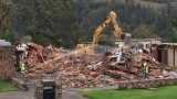 Construction crews demolish UCC's Snyder Hall, plan to rebuild