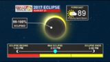 Updated Eclipse Day Forecast