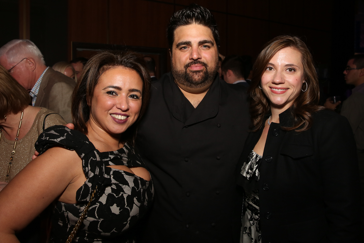 From left, Gina Dakouni, Chef Victor Albisu and Jen Resick.{ }(Amanda Andrade-Rhoades/DC Refined)