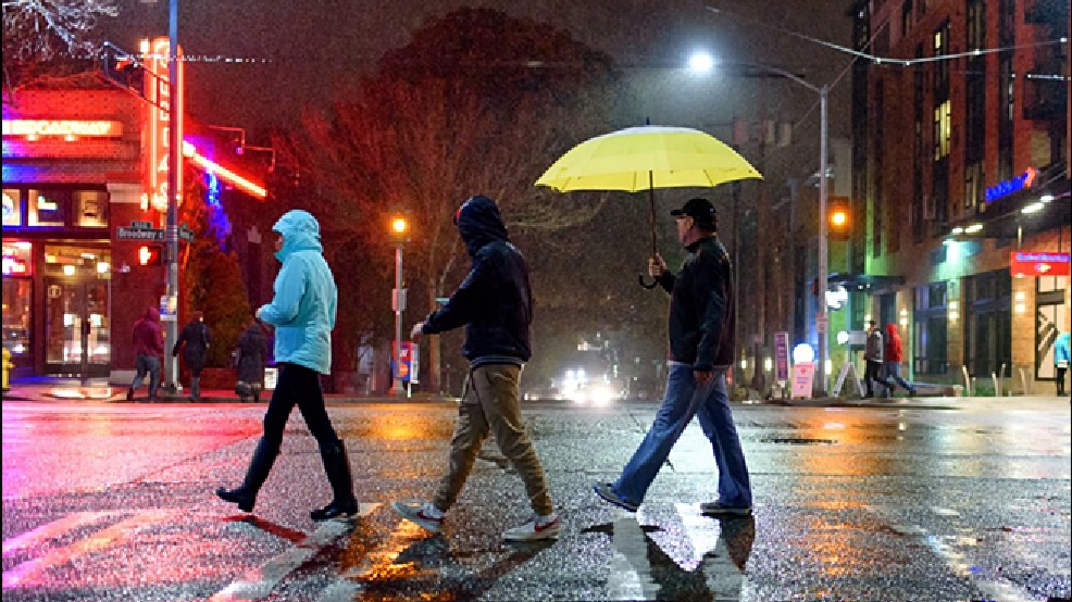 Seattle rattles off (almost) 37 consecutive hours of rainfall