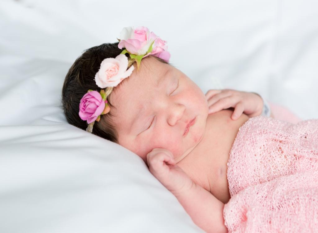 Aaliyah, our Baby of the Day for April 5, 2016. Photo courtesy of Palms West Hospital and Bella Baby Photography