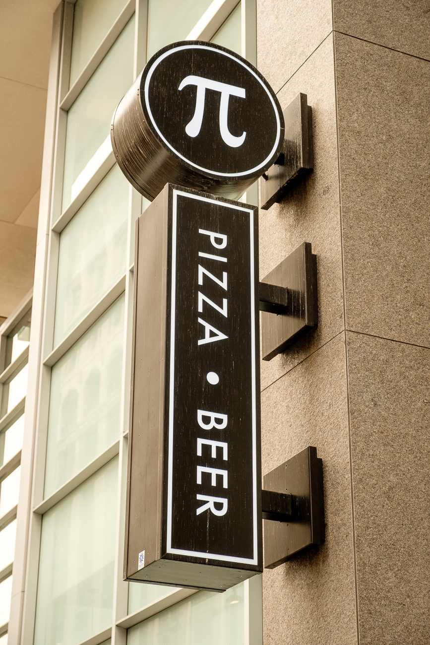 Pi Pizzeria, which is originally from St. Louis, sits at the corner of 6th & Main Streets. / Image: Daniel Smyth / Published: 3.27.17