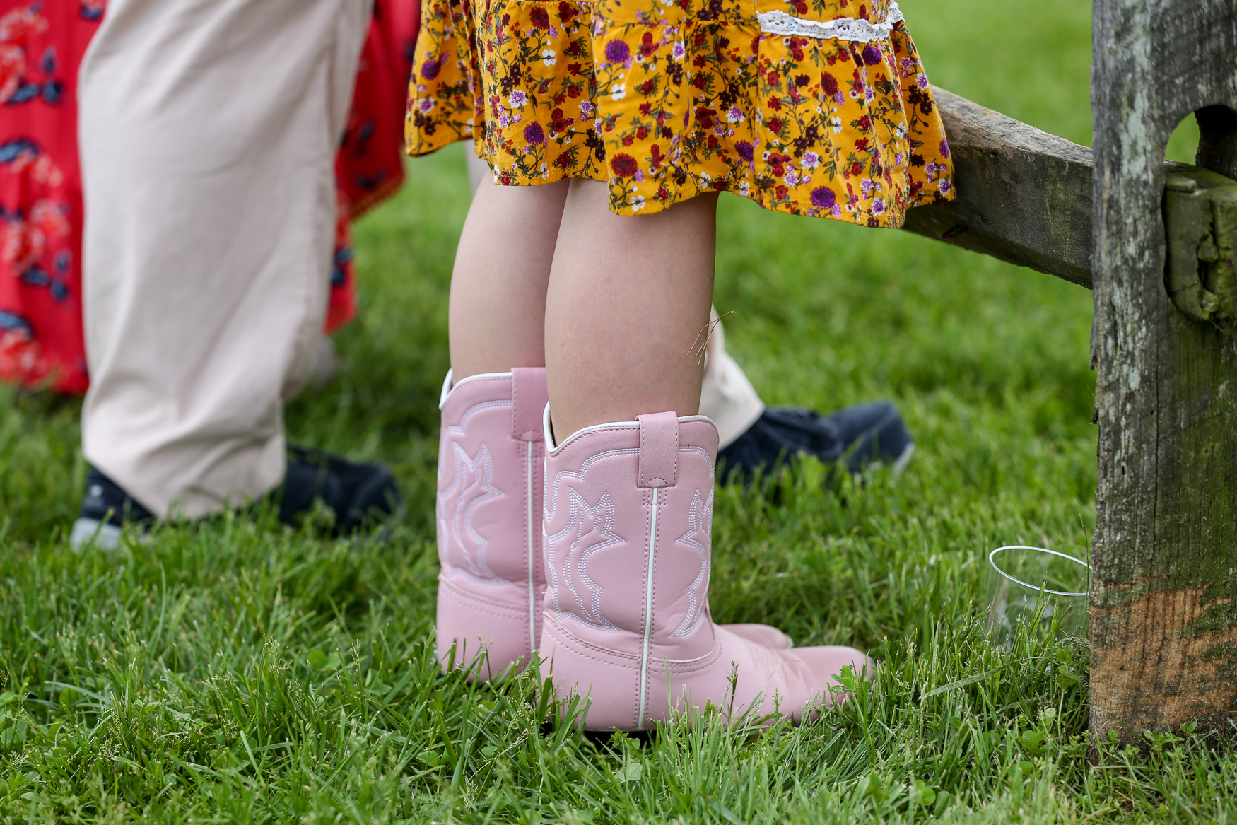 Can we get these pink boots made in adult sizes? Asking for a friend...{ } (Amanda Andrade-Rhoades/DC Refined)