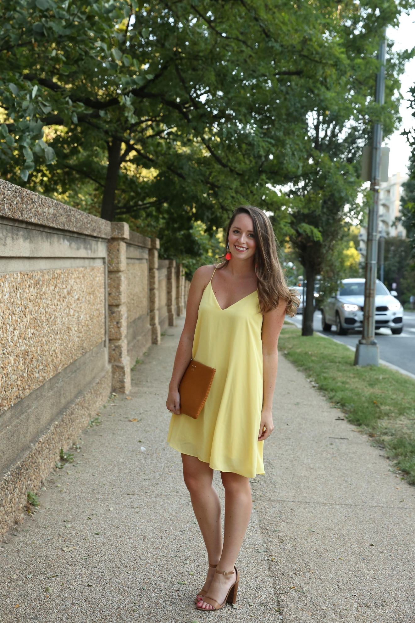 "D.C. is below the Mason-Dixon line, but Jennifer Rogers of Southern Anchors brings all of The South's charm. ""Bright colors make me happy, I feel confident in them,"" she explained. (Amanda Andrade-Rhoades/DC Refined)"