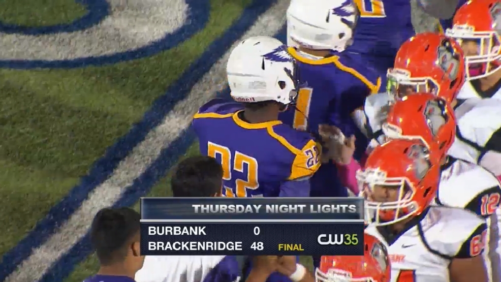 TNL Week 8: Brackenridge pummels Burbank at Alamo Stadium, 48-0