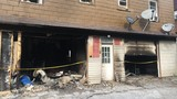 Garage fire breaks out early Saturday on Fairfield Avenue