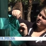 Turn the Town Teal canvases Kalamazoo to raise awareness of ovarian cancer