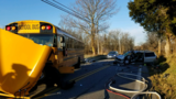 Police: Drivers injured after head-on crash involving school bus, no students injured